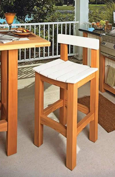 cafe stool plans
