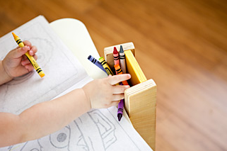 Child's school desk plans