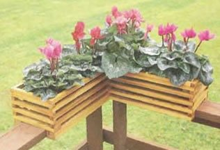 Free Deck Railing Planter Plans