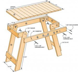 Grill table plan diagram