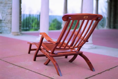 Free Deck Chair Plans - Titanic Style - Woodwork City Free ...