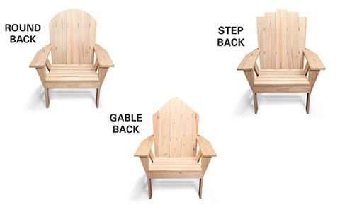 Free Upright Adirondack Chair Plans