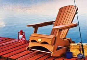 Muskoka rocking chair Adirondack