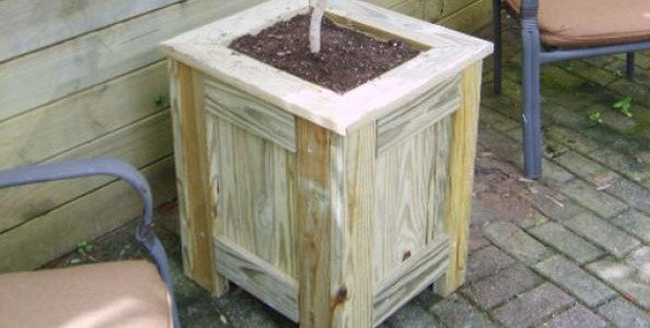 Free Pressure Treated Planter Box Plans