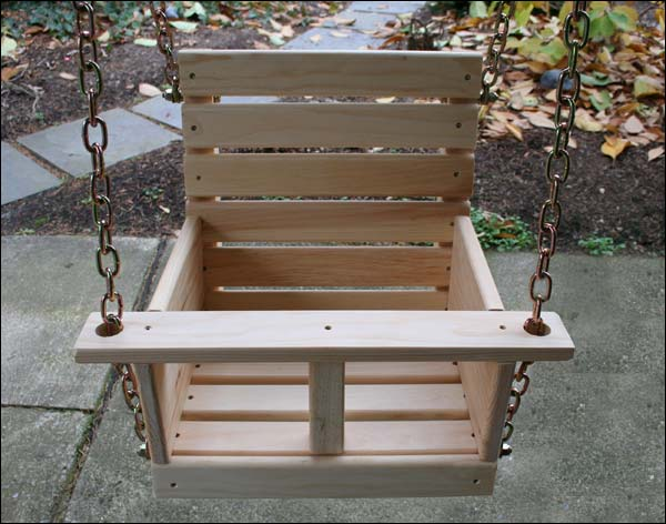 Child swing 2 woodwork city free woodworking plans for Child swing plans free
