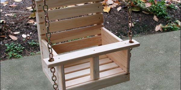 Child's Swing Plans – High Low Swing