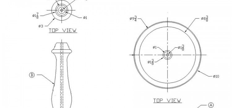 Free Wooden Pedestal Lamp Plans