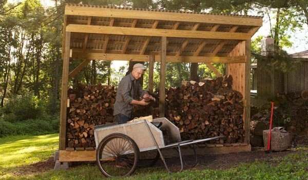 Free Firewood Shed Plans