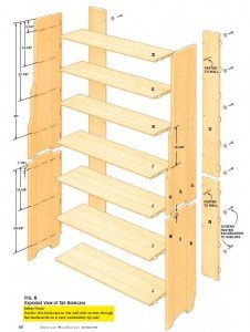 Bookcase plan 2 part