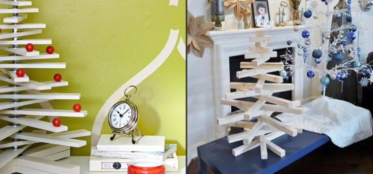 Christmas Tree Plans – From Scraps!
