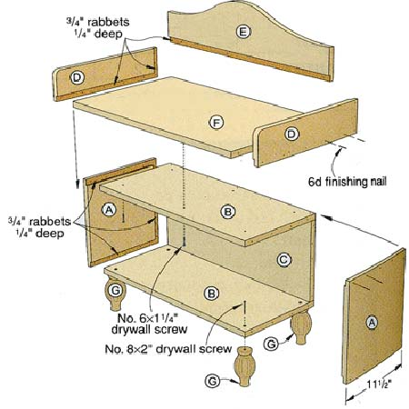 Entry Bench Plans Woodwork City Free Woodworking Plans
