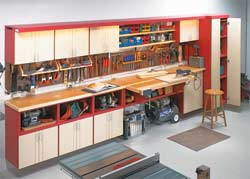 home workshop cabinet plans
