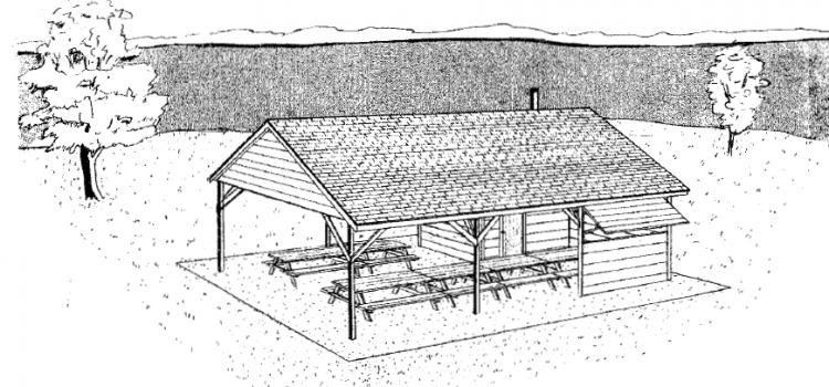 Picnic Shelter Plans with Kitchen - Woodwork City Free Woodworking ...