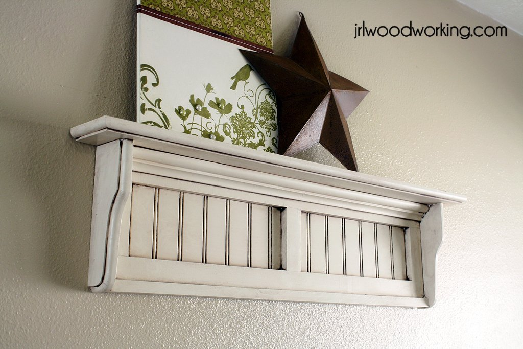 Free Beadboard Wall Shelf Plans Woodwork City Free