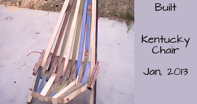 Reader Built: Kentucky Chair