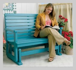 Free Porch Glider Project Plans PDF - Woodwork City Free ...