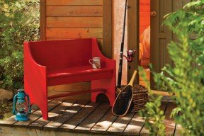 Rustic and Simple Bench Plan