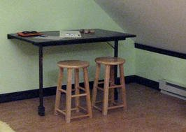 Build a Foldout Desk and Craft Table