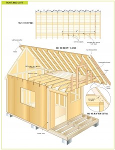 Free wood cabin plans free step by step shed plans for Sleeping cabin plans