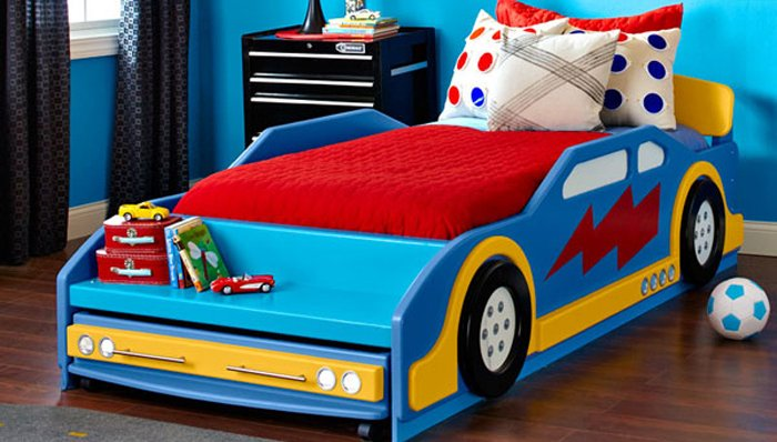 Race Car Bed on Race Car Trundle Beds