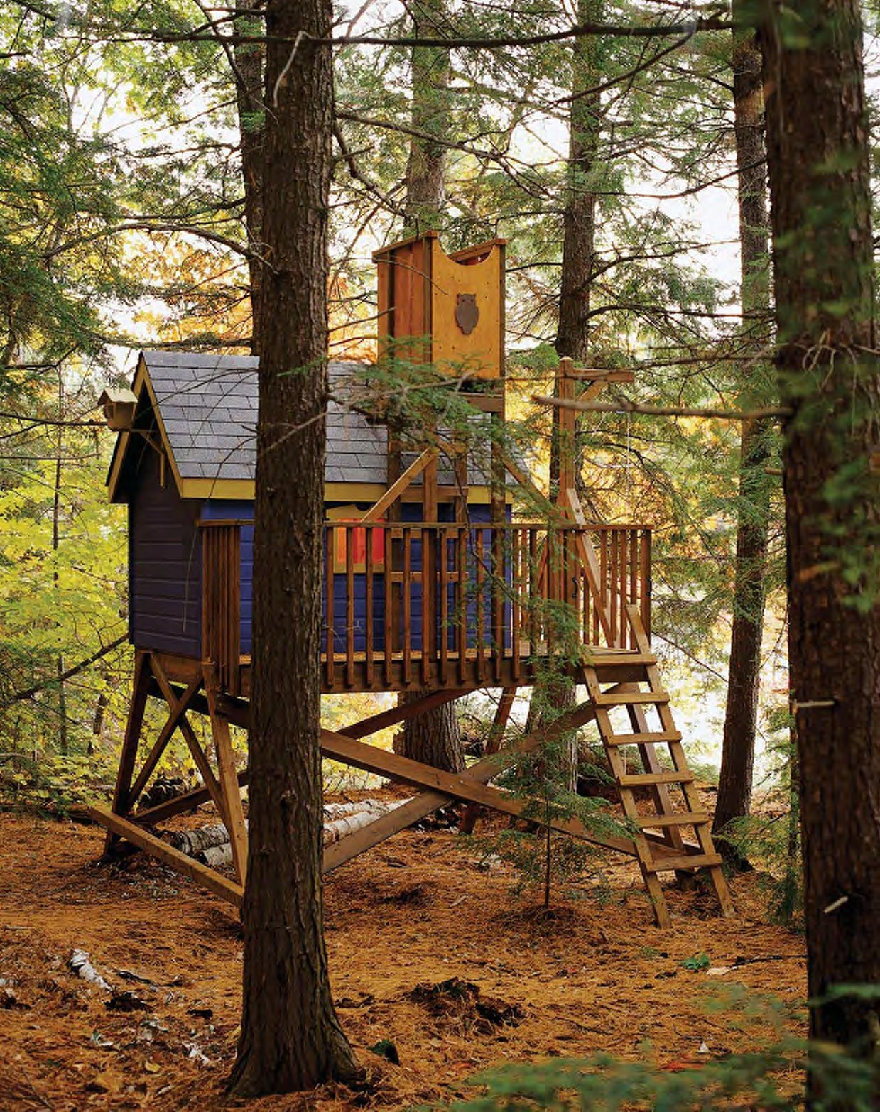 deluxe tree house plans woodwork city free woodworking plans ForFree Treehouse Plans
