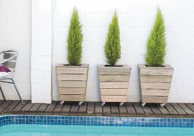Movable Planter for your Patio or Deck