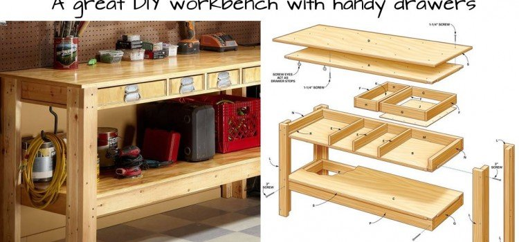 Build this Simple Workbench With Drawers - Woodwork City Free