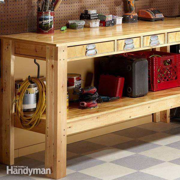 PDF DIY Wooden Workbench With Drawers Download wooden wine glass rack ...