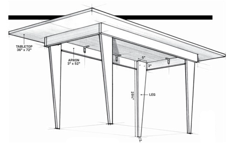Plywood Table Plans - Woodwork City Free Woodworking Plans