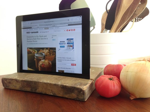 Make Your Own Tablet Stand : DIY - Woodwork City Free ...