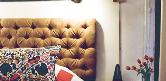 Build Your Own Tufted Headboard