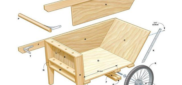 Fantastic Garden Cart Plans Woodwork City Free Woodworking Plans