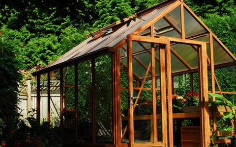 Inexpensive Greenhouse
