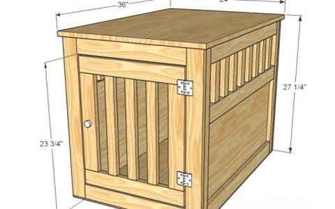 Farm Style Wooden Dog Kennel Woodwork City Free