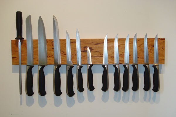 Simple, and Ingenious Magnetic Knife Holder