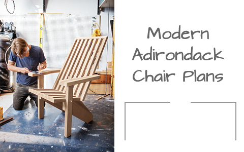 Sleek, and Stylish Modern Adirondack Chair