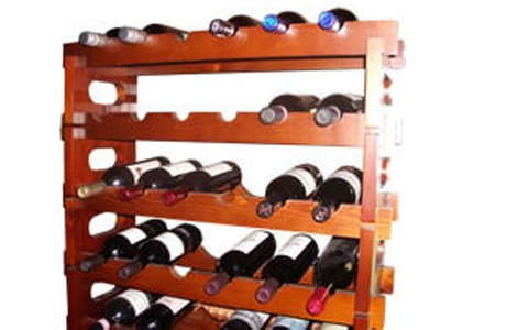 Quick, and Easy Wine Rack