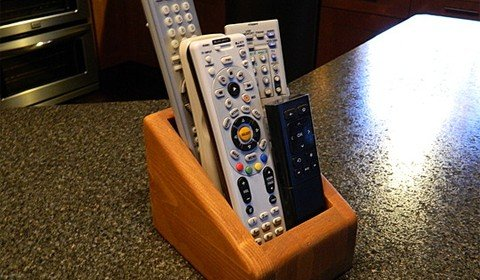 Crisp, and Clean Remote Control Holder
