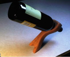 Wine balancer plans woodwork city free woodworking plans - Wine bottle balancer plans ...