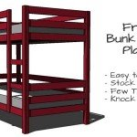 bunk bed plans - featured picture