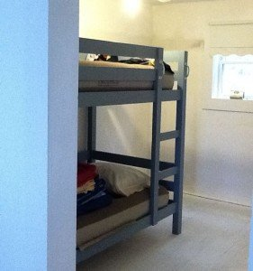 Cottage bunk beds