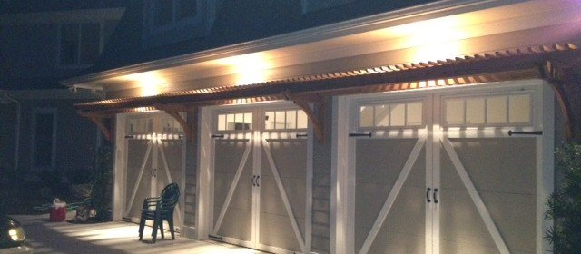 Reader Built: Trellis Above Garage Doors