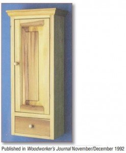 Free Wall Cabinet Plans - Woodwork City Free Woodworking Plans