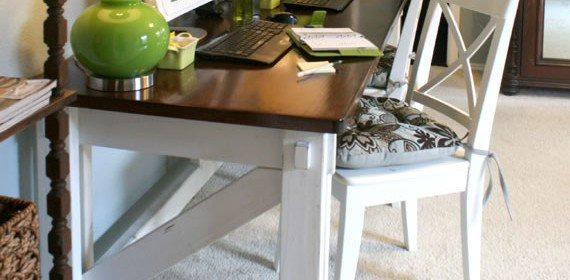 Computer Desk Plans – Rustic – Clean
