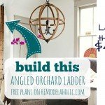 orchard ladder plans