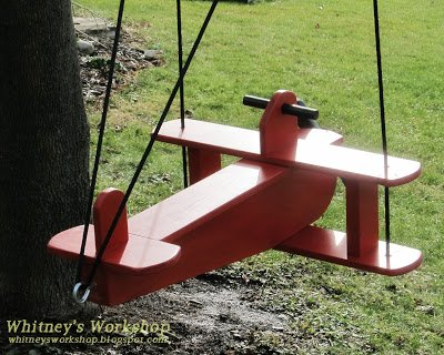 Free Airplane Swing Plans