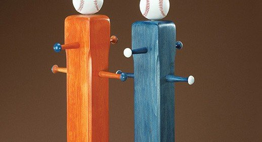 Free Baseball Cap Rack Plans