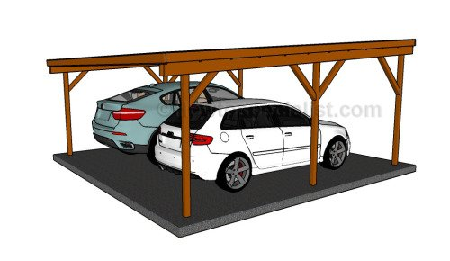 Free carport plans woodwork city free woodworking plans Wood carport plans free