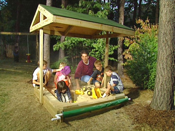 Free Covered Sandbox Plans Woodwork City Free