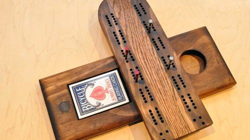 Free Cribbage Board Plans
